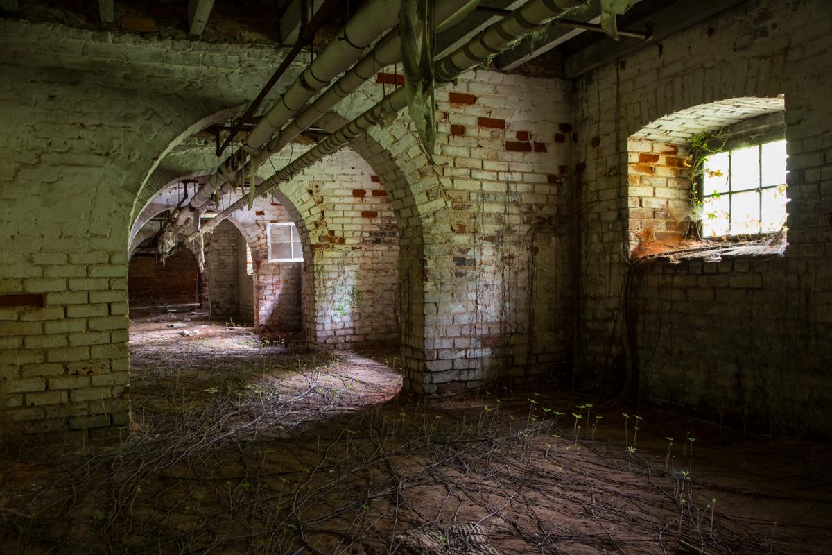 Tunnels  |  Babcock Building  |  South Carolina Lunatic Asylum