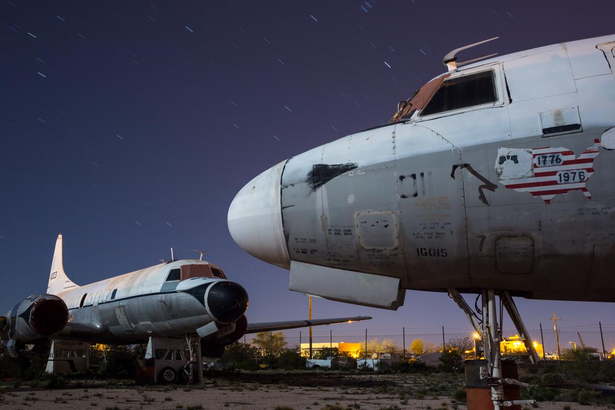 Aircraft Boneyard  |  Arizona