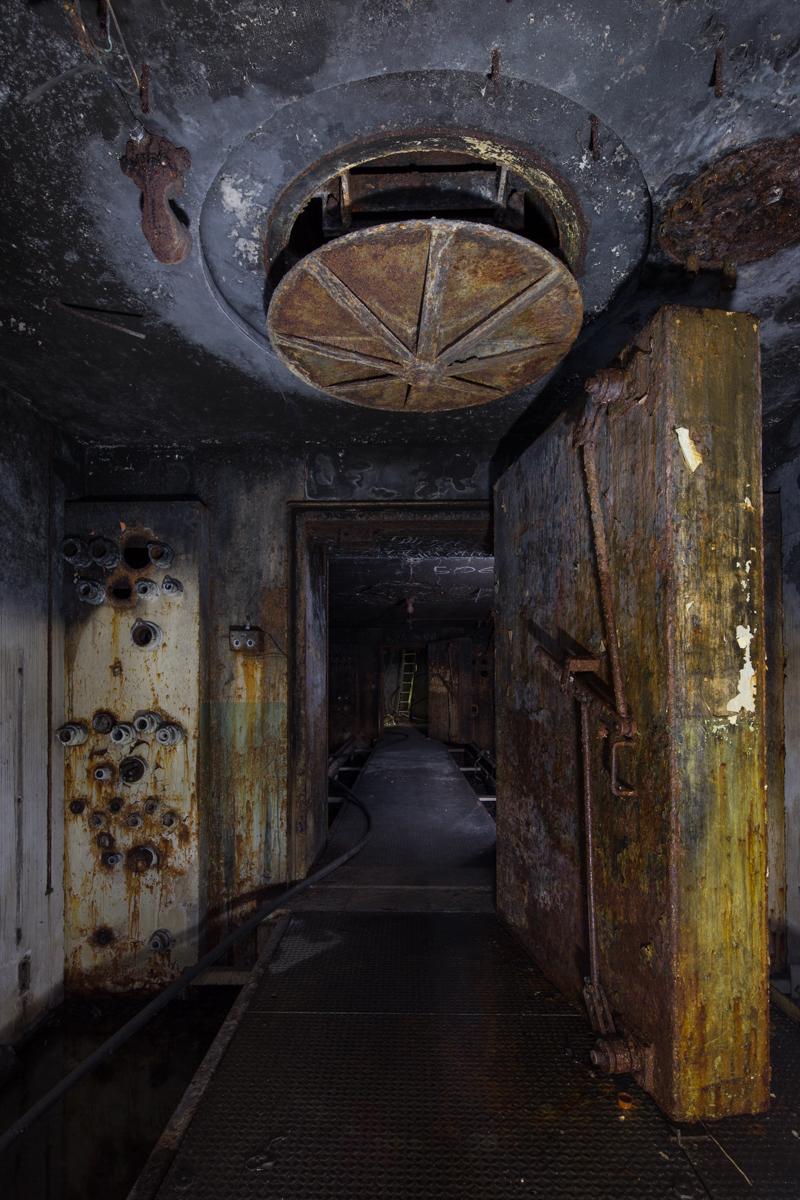 (Dark interior. 60 second exposure lit with primarily LED panels.)