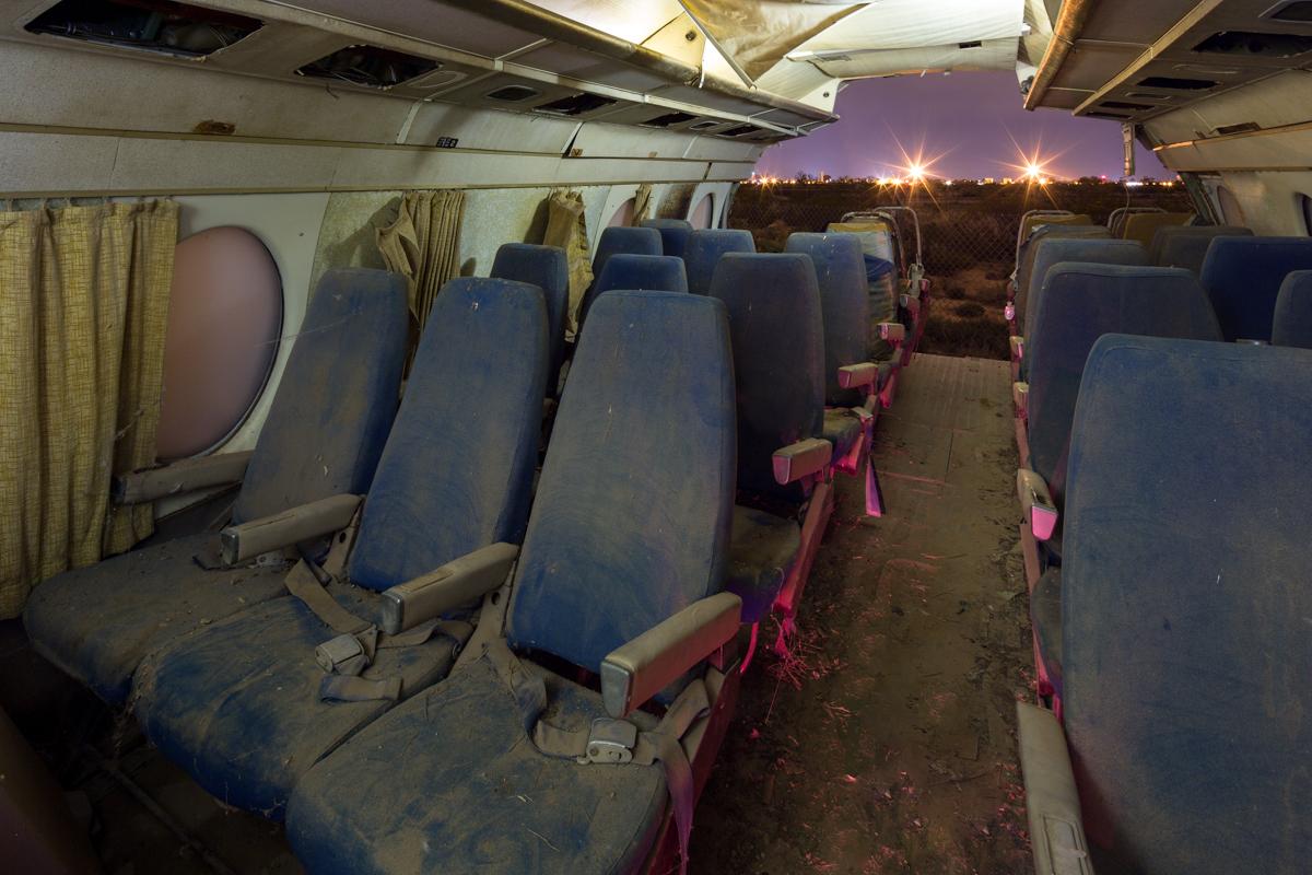 Front Section  |  Vickers Viscount Aircraft  |  Arizona Boneyard