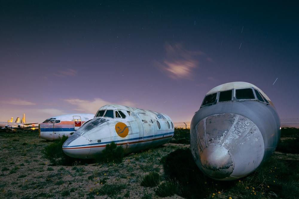 Nose Cones   |  Aircraft Boneyard  |  Arizona
