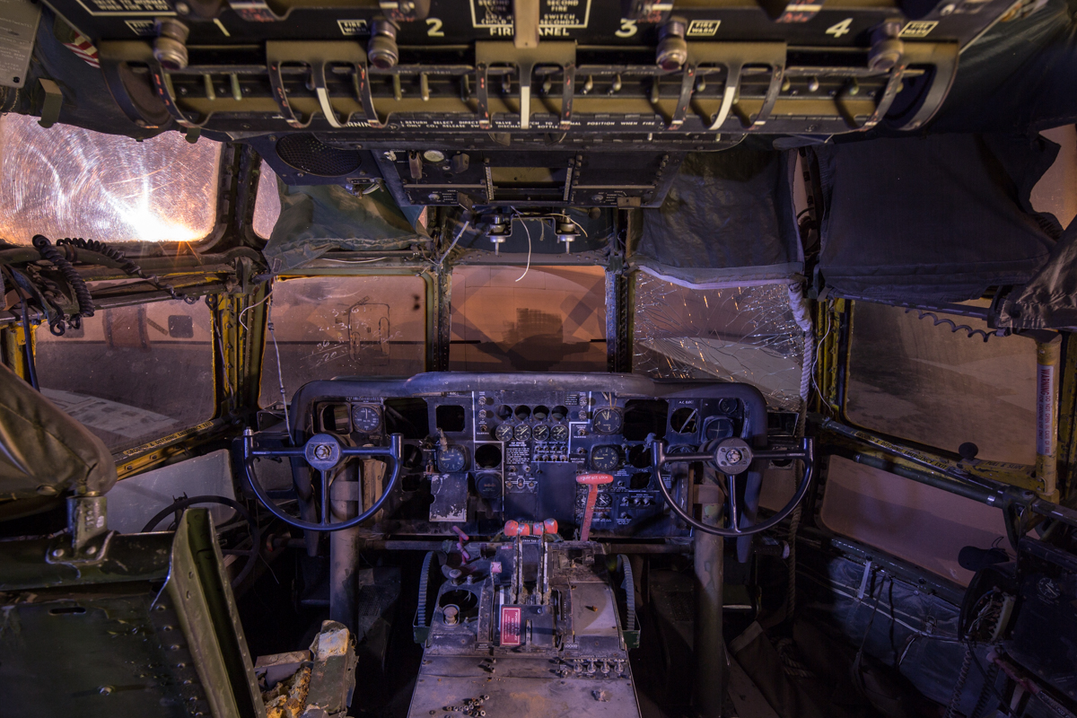 Cockpit   |  Aircraft Boneyard  |  Arizona