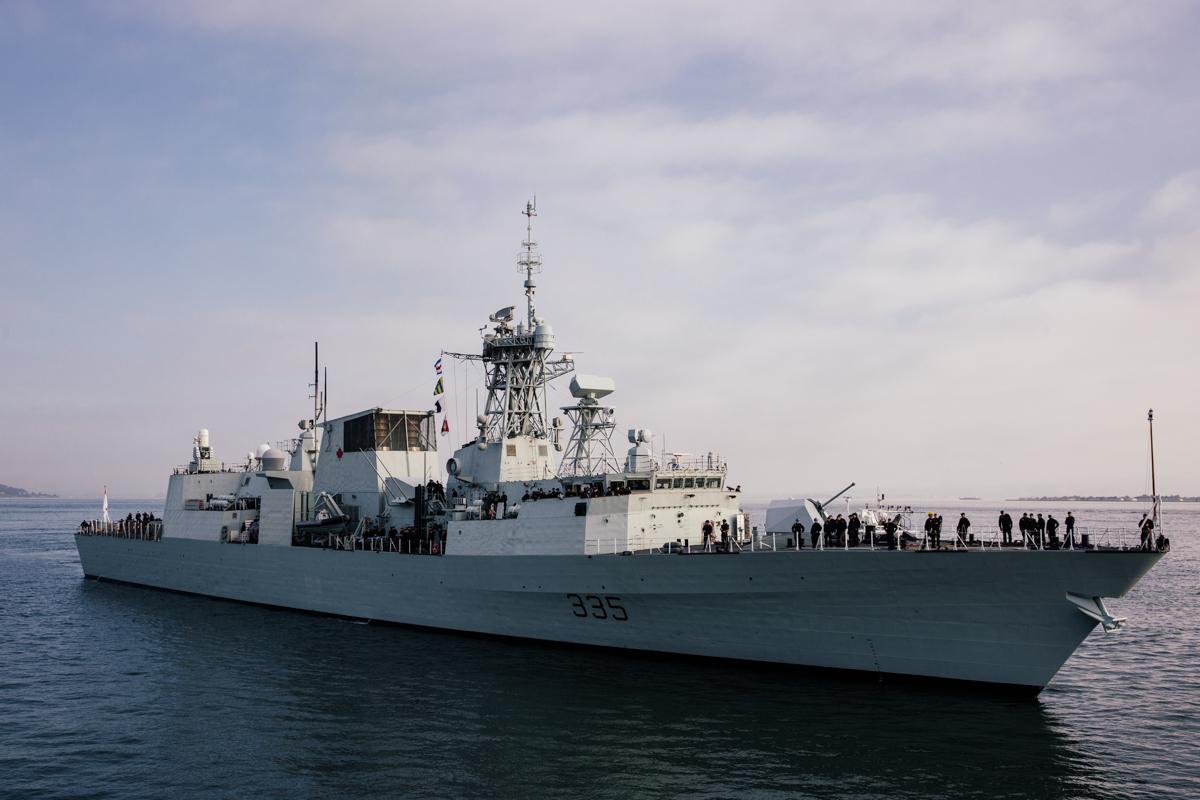 HMCS Calgary     San Francisco Bay     California