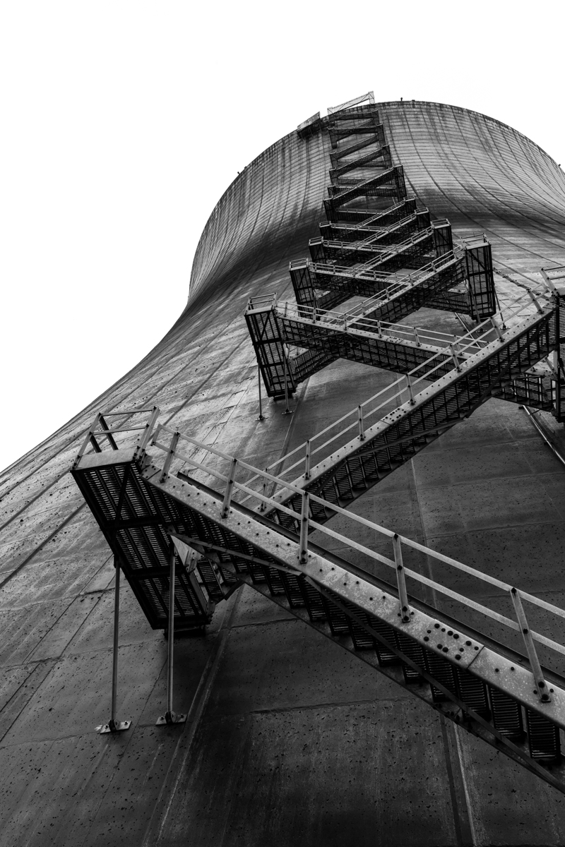 Cooling Tower    |    Satsop Nuclear Power Plant    |    Washington