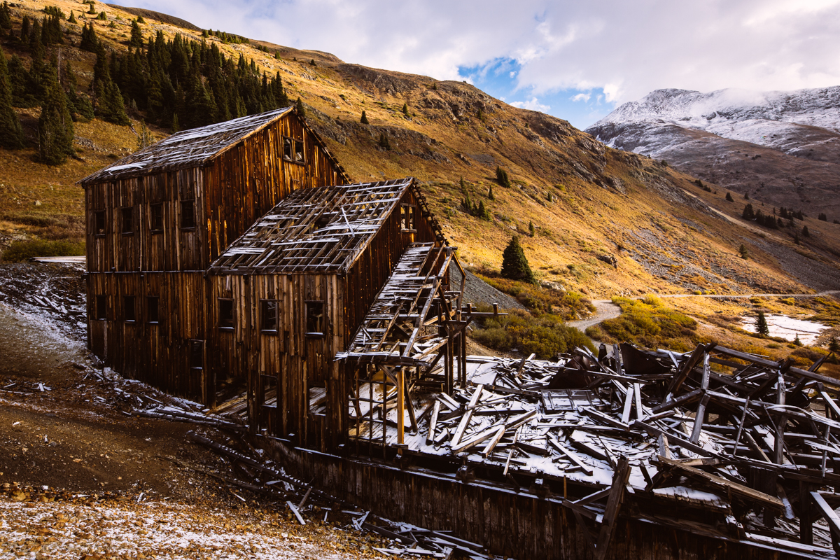 Abandoned Mine - San Juan Mountains, Colorado