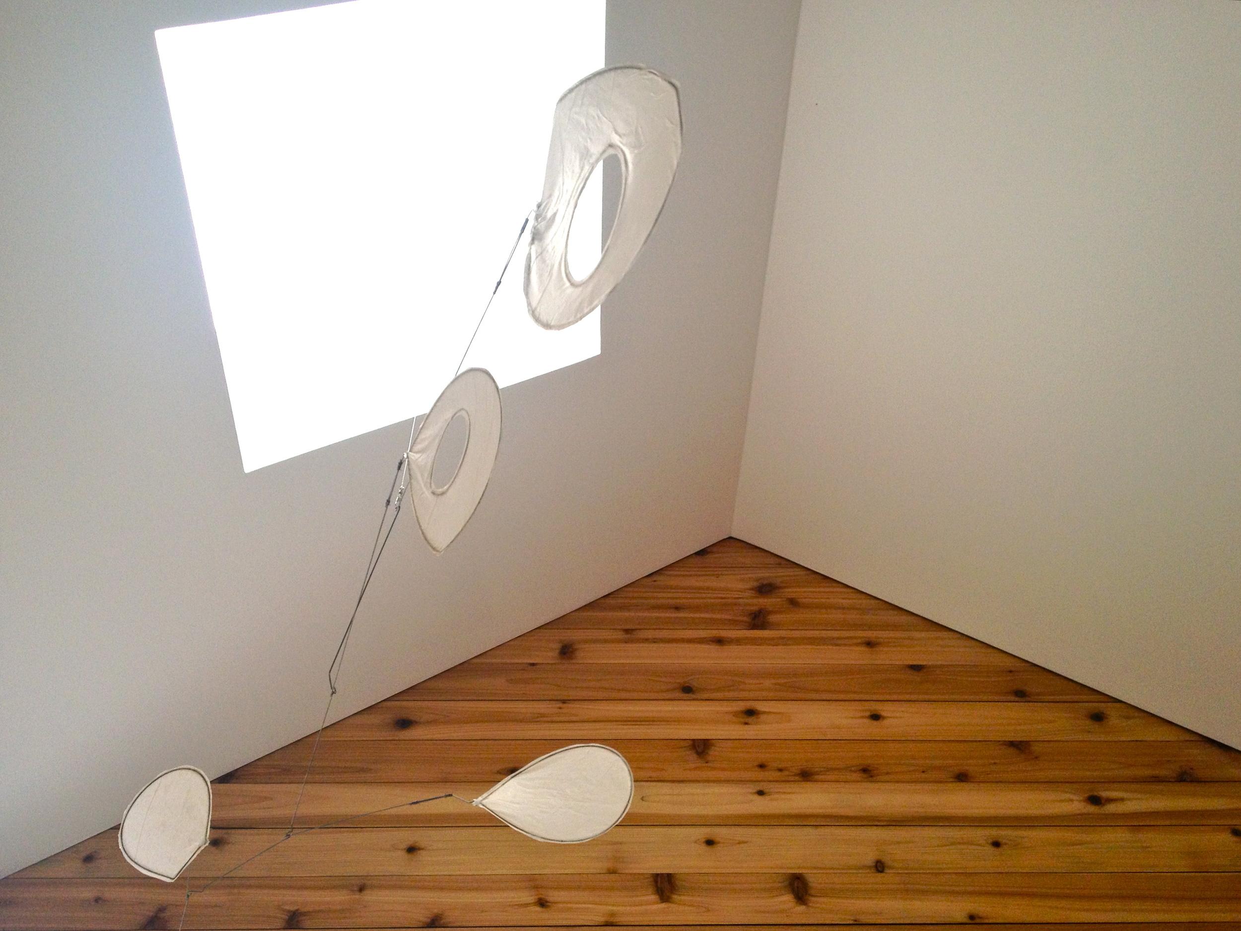 skylight + light ceiling