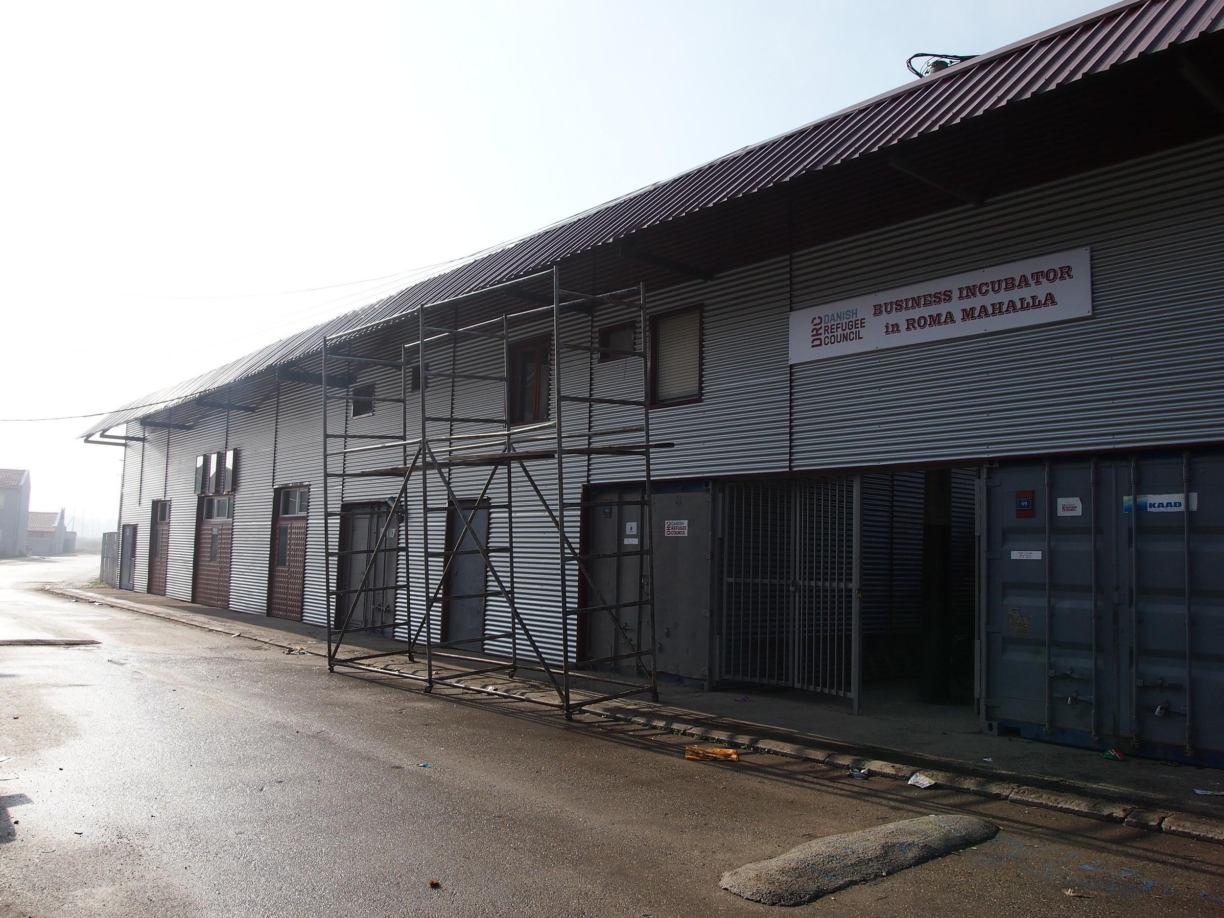 Newly constructed Social Business Incubator annex to host vocational trainings