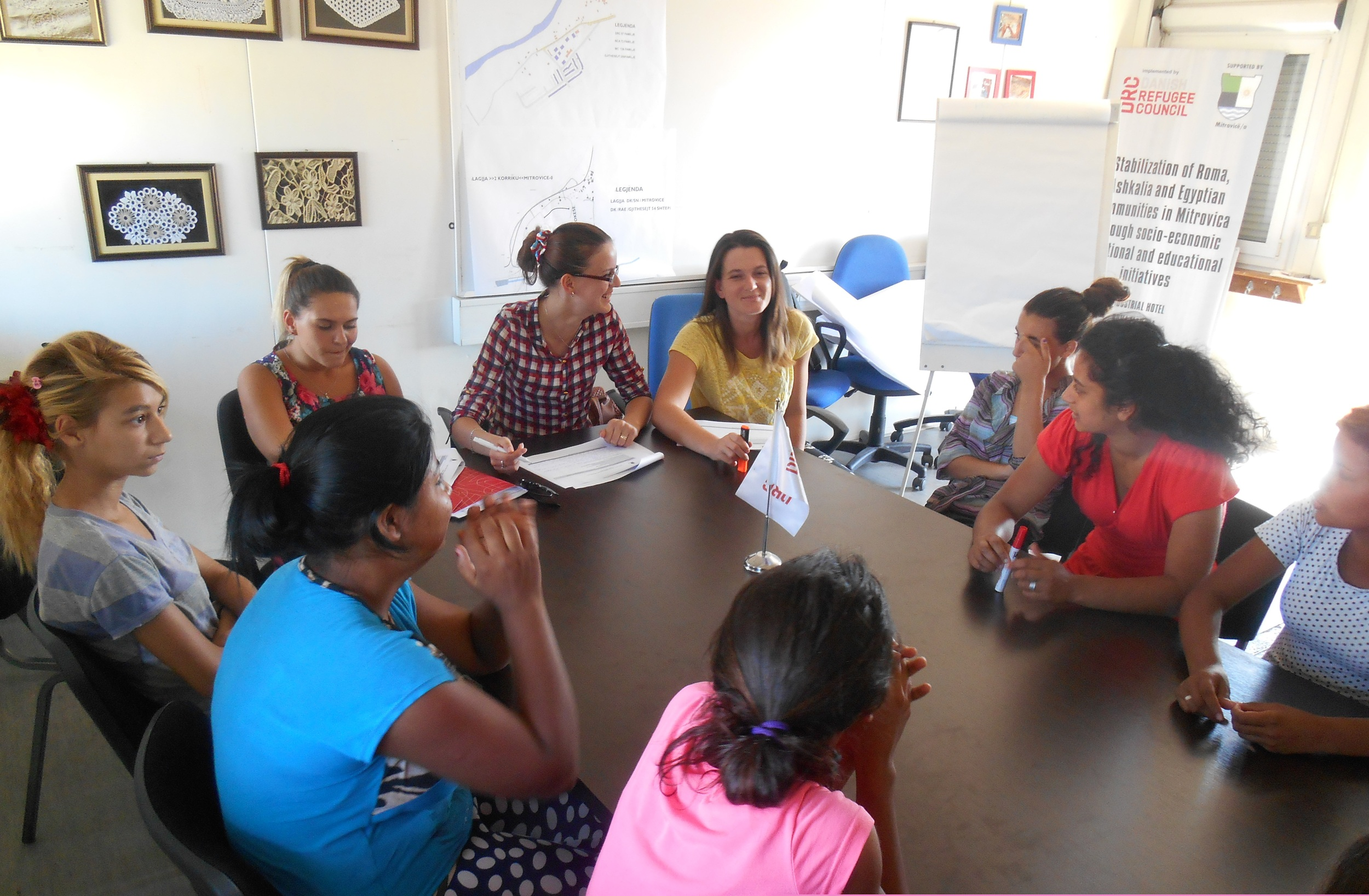 Focus group discussions girls