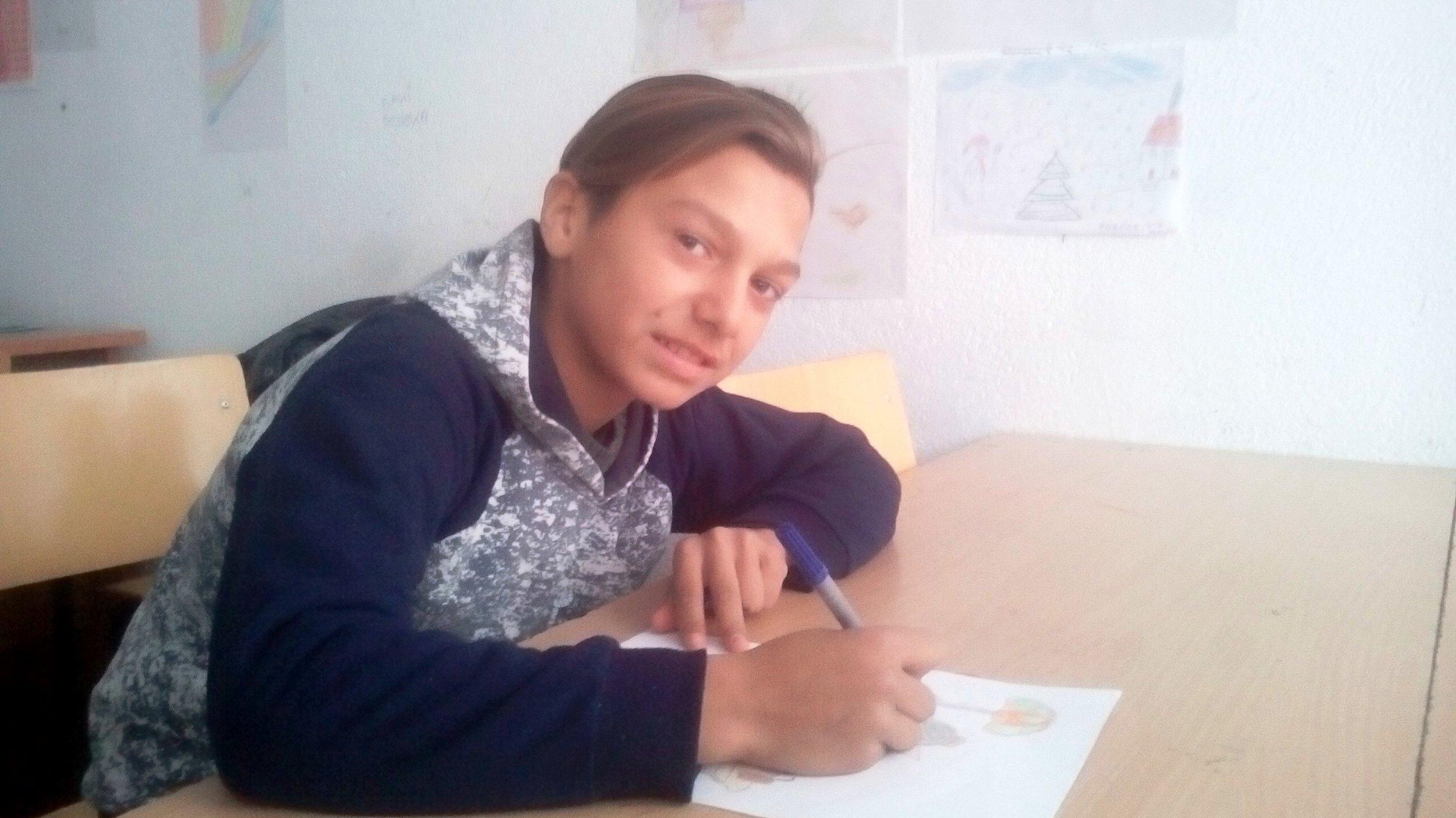 Shaban Gashian at Learning Center 2.jpg