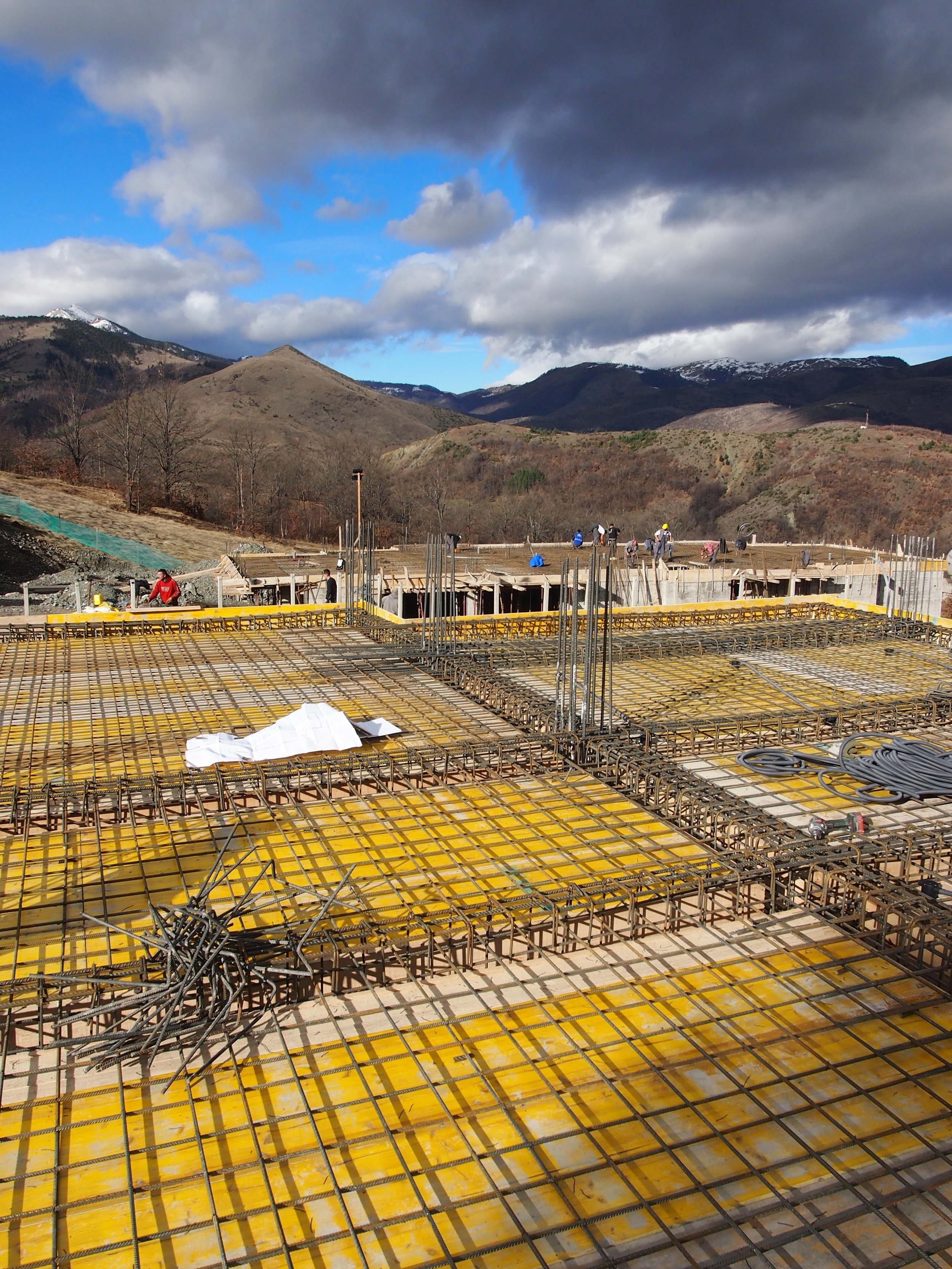Construction Brezovica Nov'17