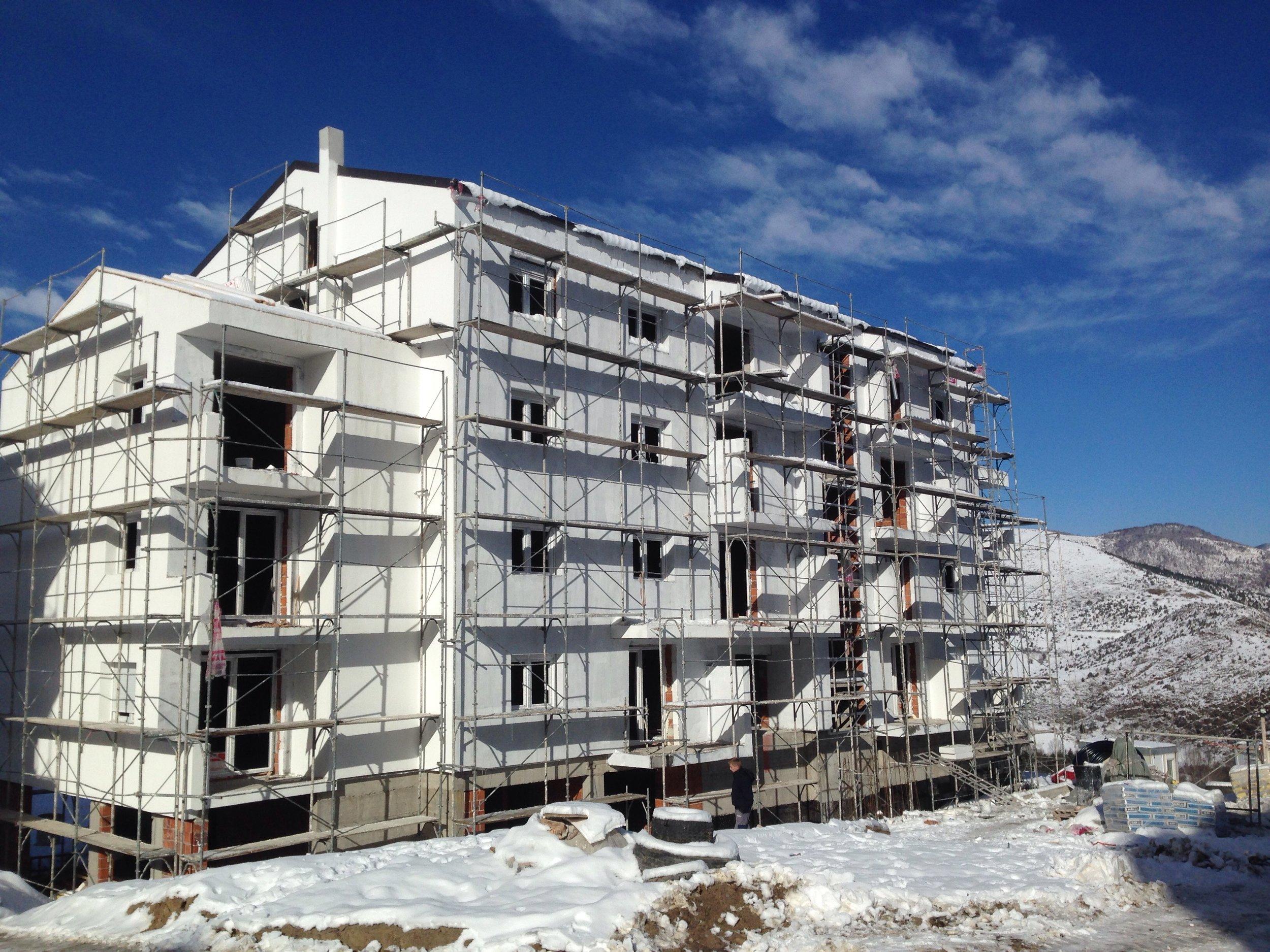 Construction Brezovica Dec'18