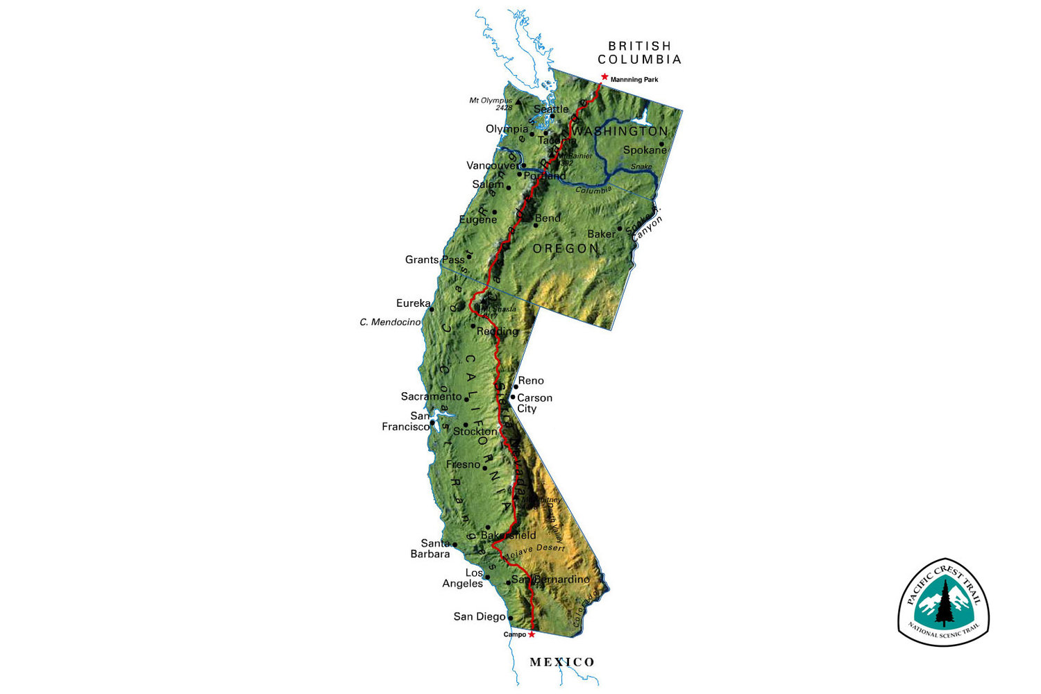 So, I\'m hiking the Pacific Crest Trail this summer | Isko ...