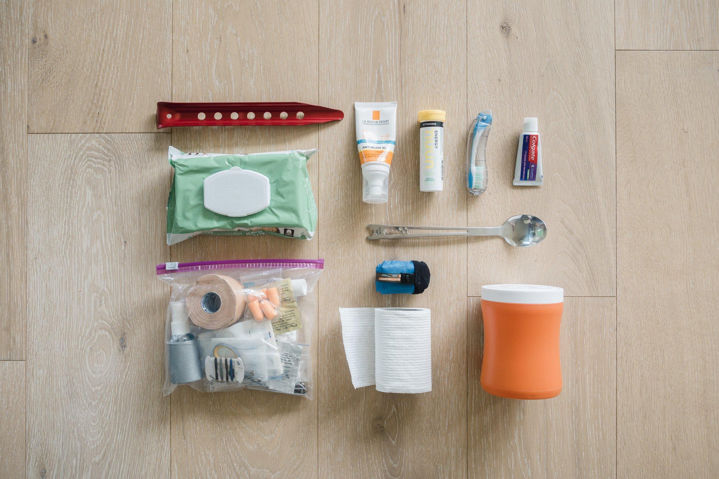 Toiletries for PCT