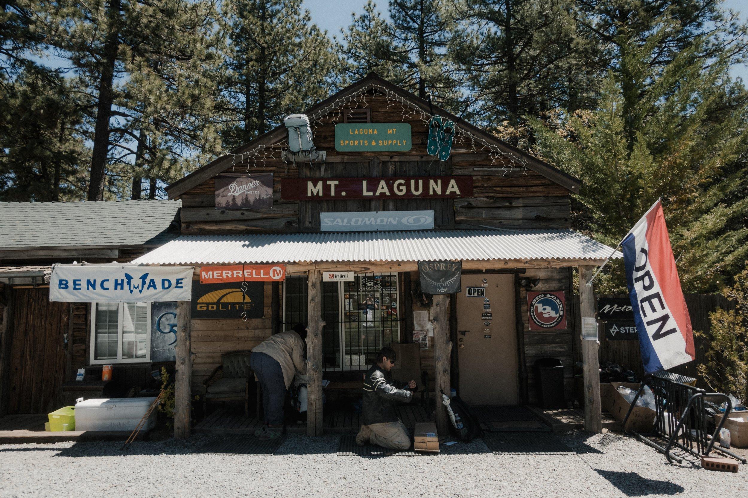 Mt. Laguna gear store