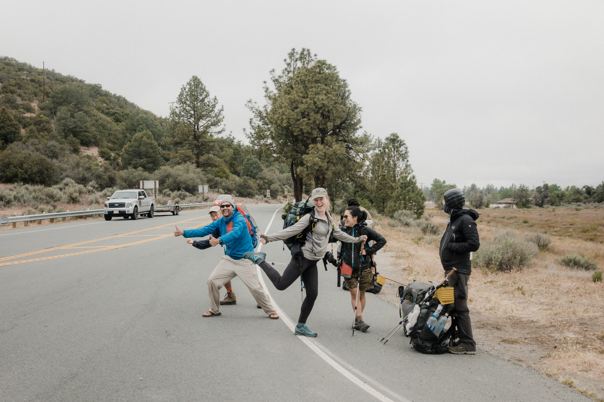 Hitchhiking is an art.