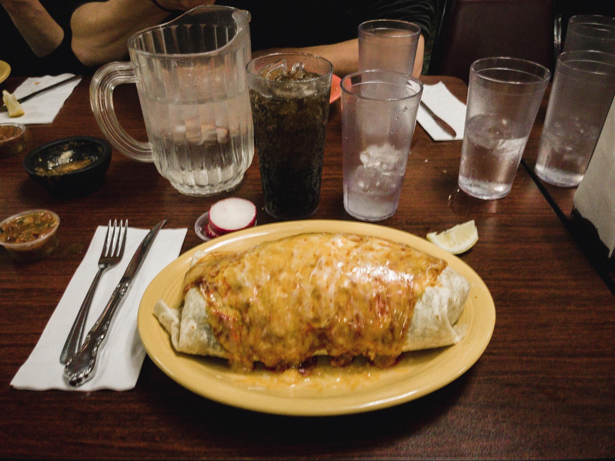 2.5lbs burrito.