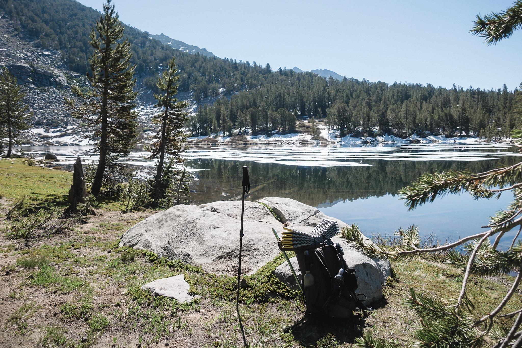 My little break by the lake.