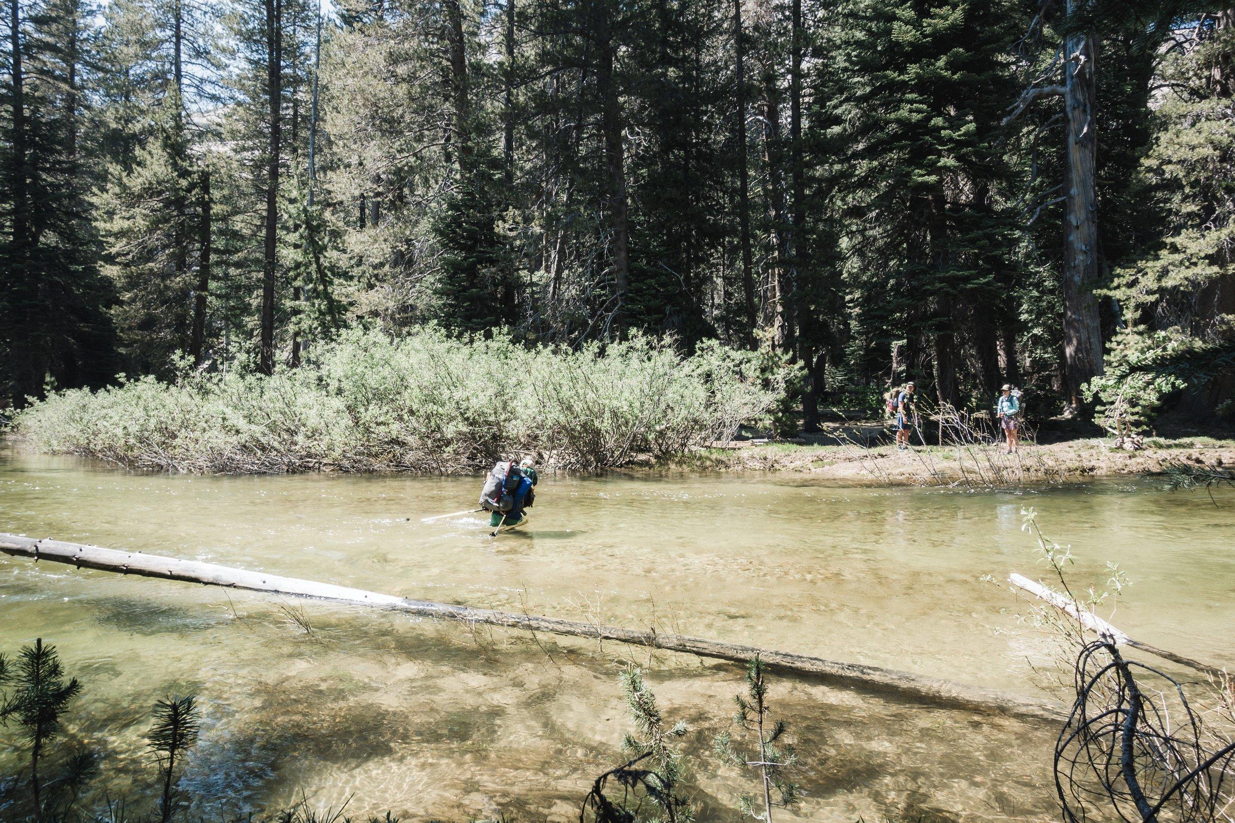 More water crossings.