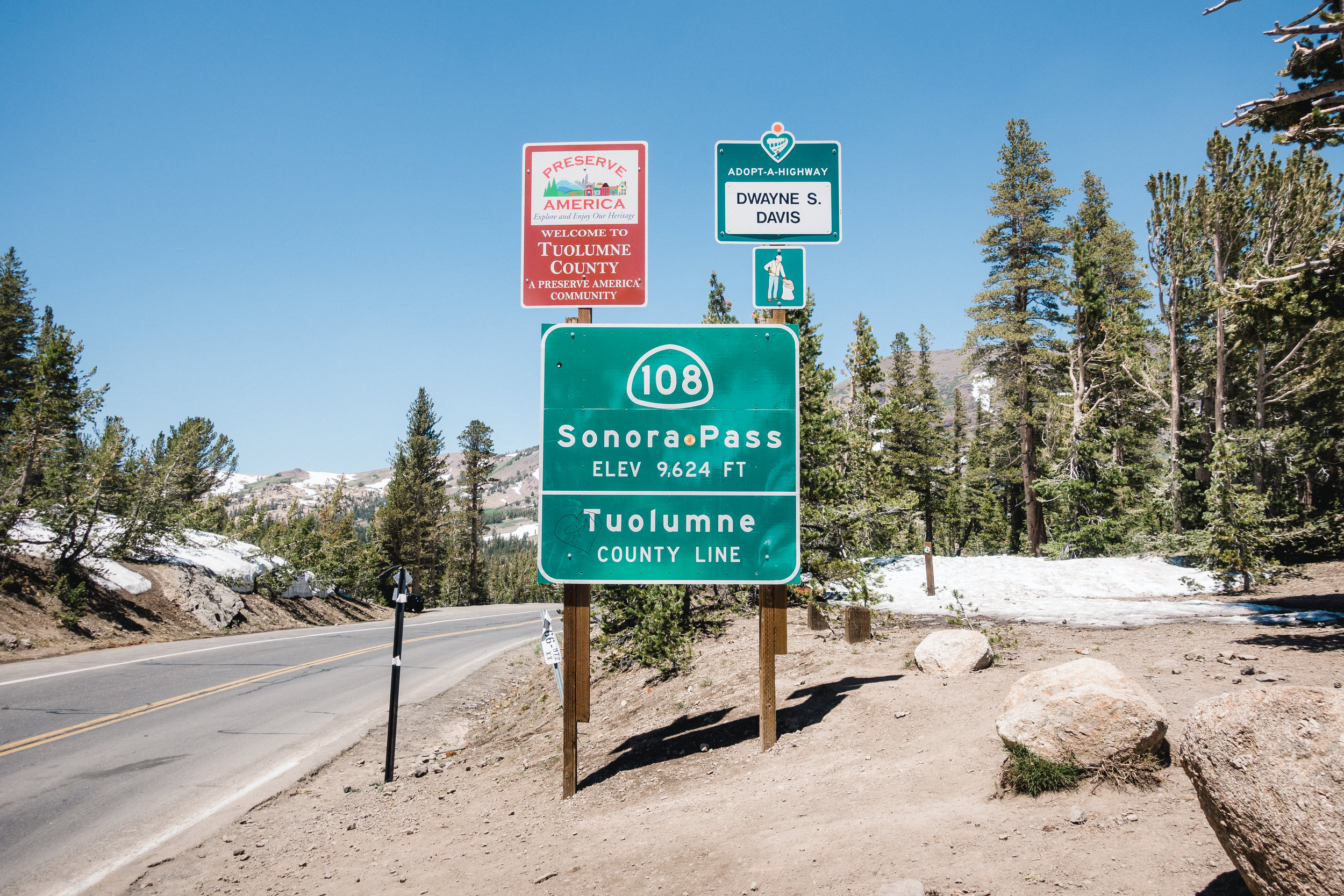 Sonora Pass.