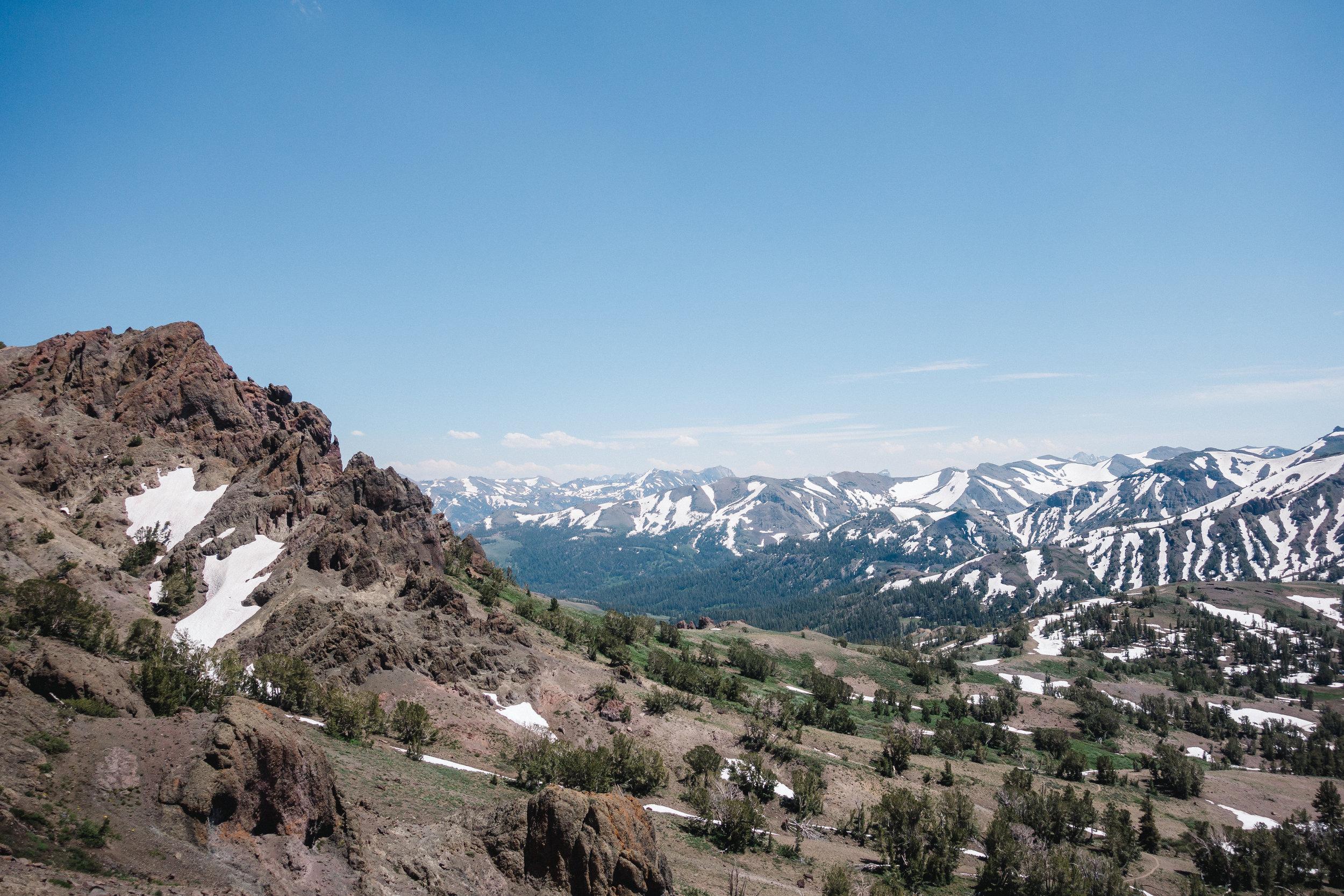 Looking back towards Sierra.