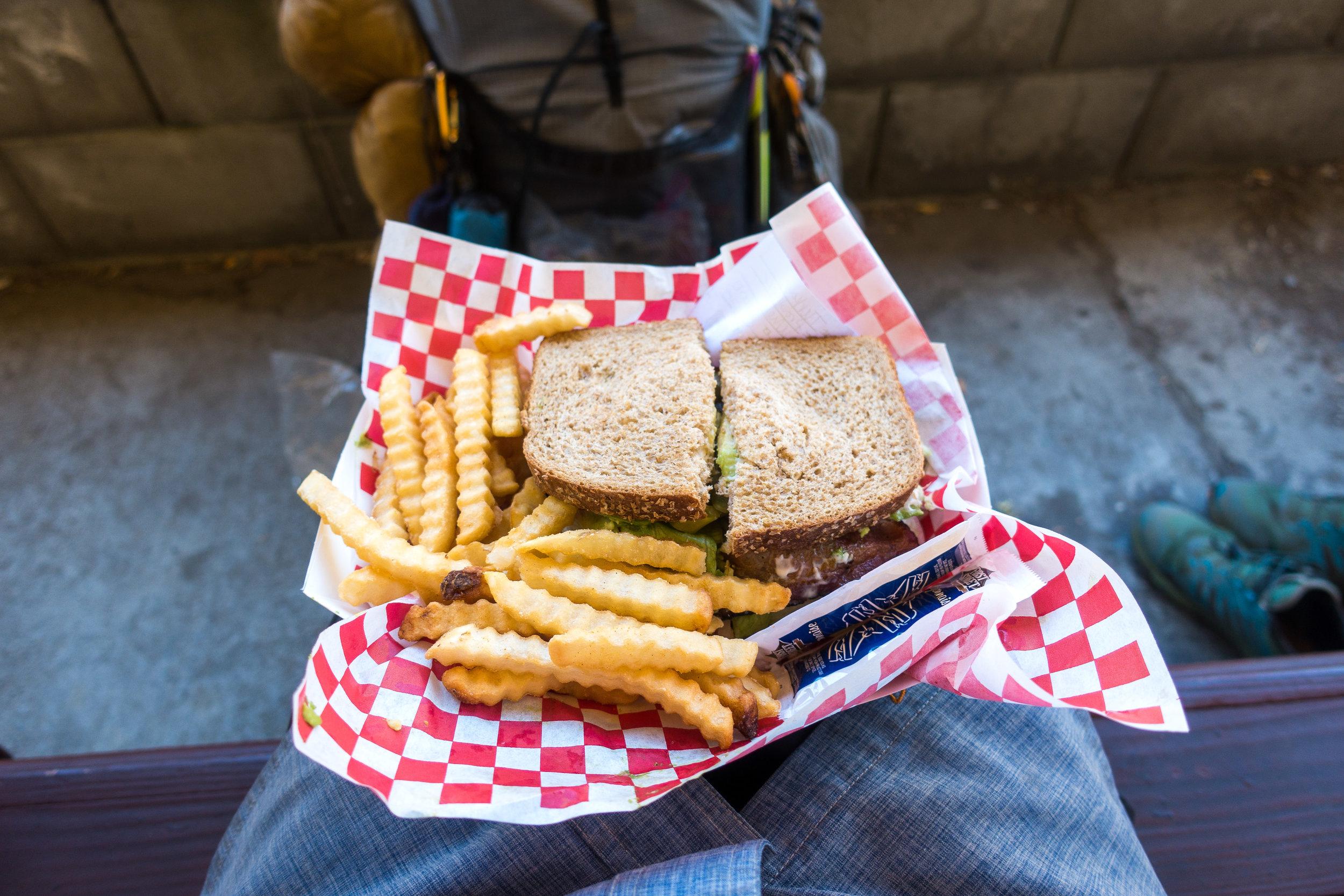 My sandwich.
