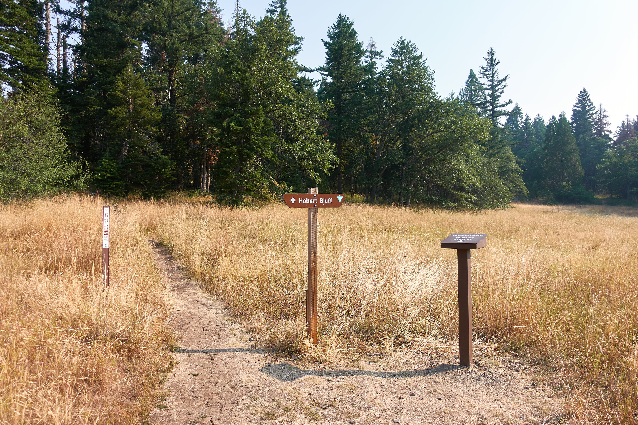 Trailhead and register.