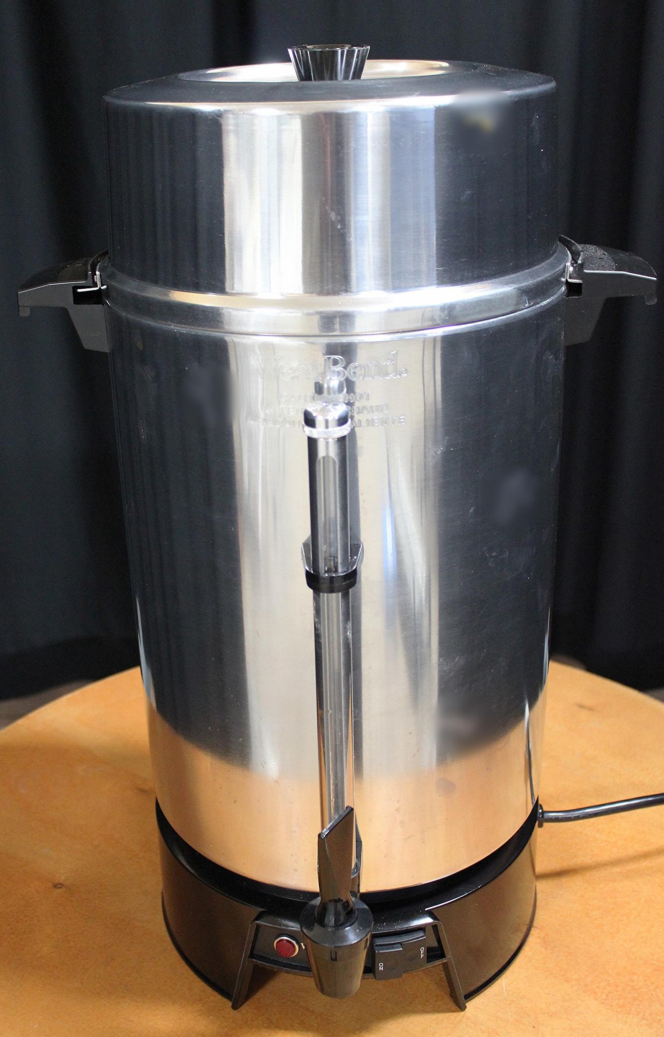 Coffee/Tea/Apple Cider Urns (100 cups) $ 20.00 ea.