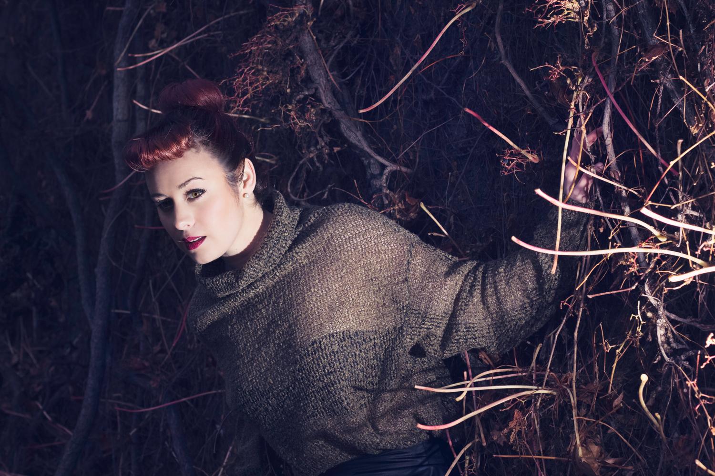Commercial/editorial photograph for Australian singer 'Poppy'