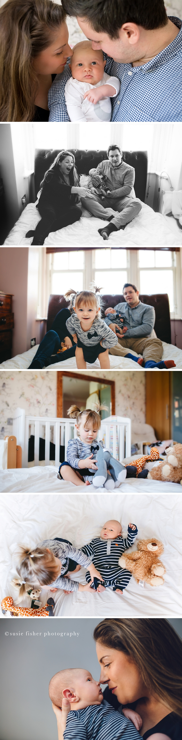 At Home Lifestyle Newborn Family Photography Session in Guildford Surrey_Image Copyrighted Susie Fisher Photography 2017