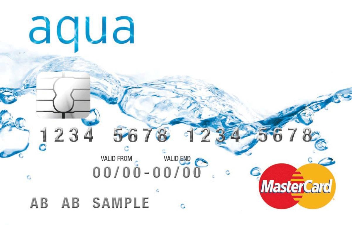 Image downloaded off the internet (Images: aqua credit card)