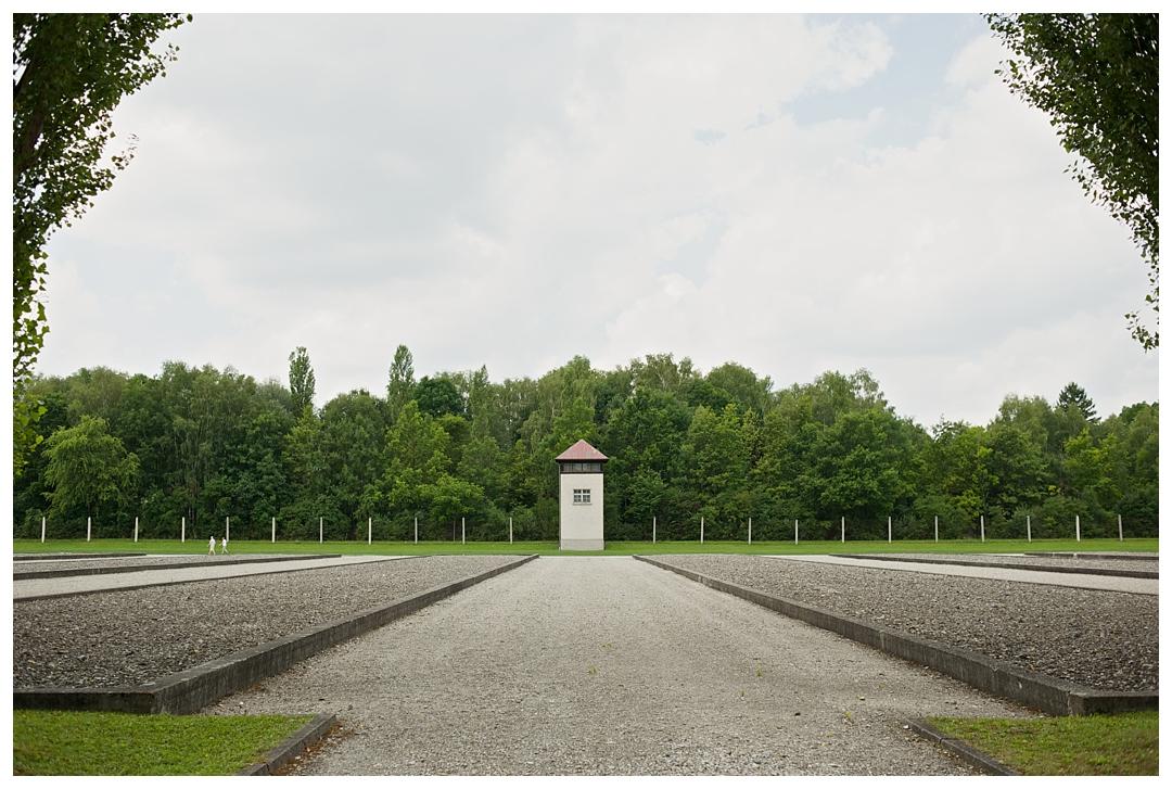 Guard Tower, Dachau, Germany