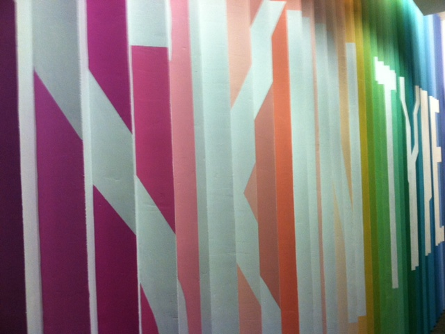 SKIN TYPE (detail)- installation at Baumann Cosmetic and Research Institute