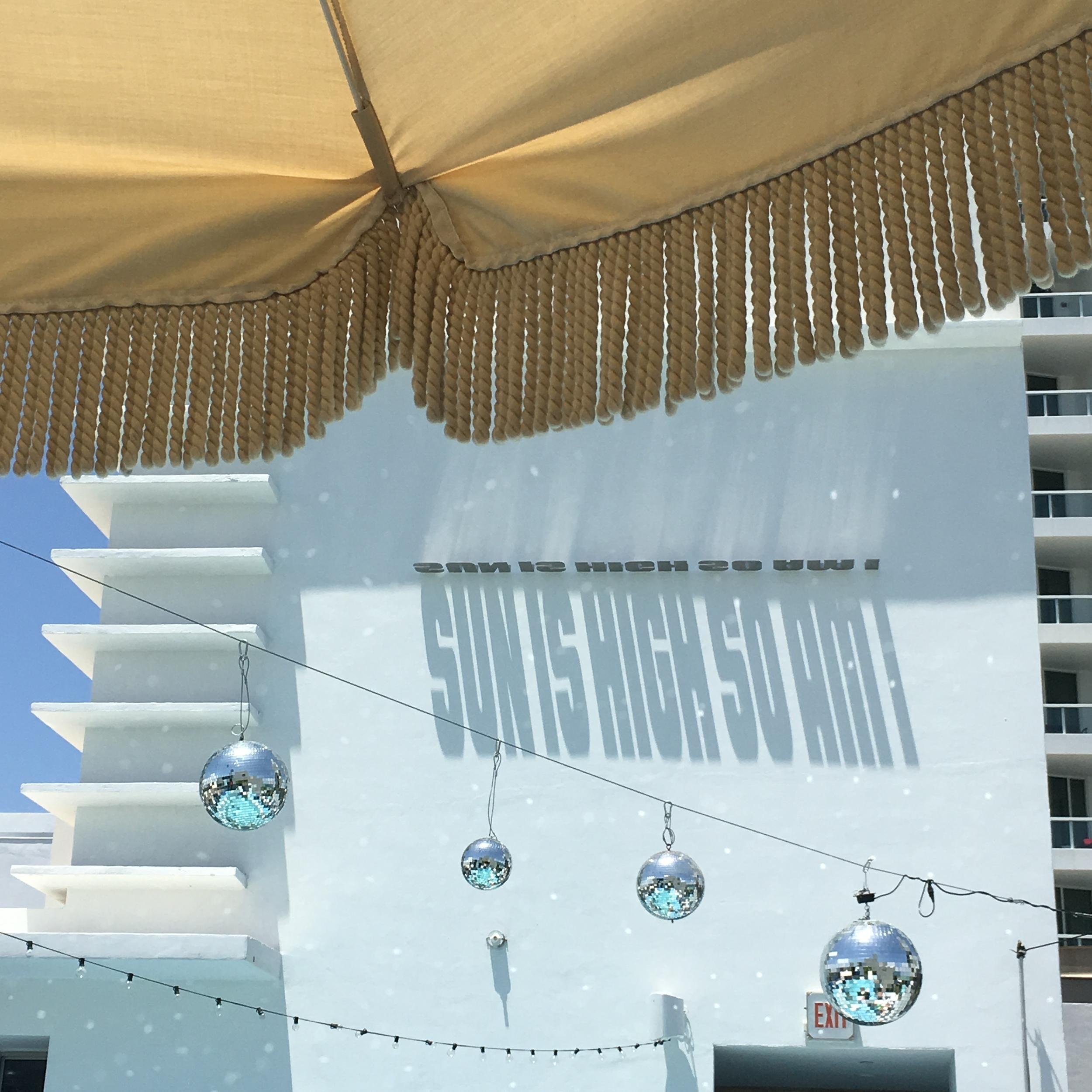 at Soho Beach House, Miami photo by Erica Gil