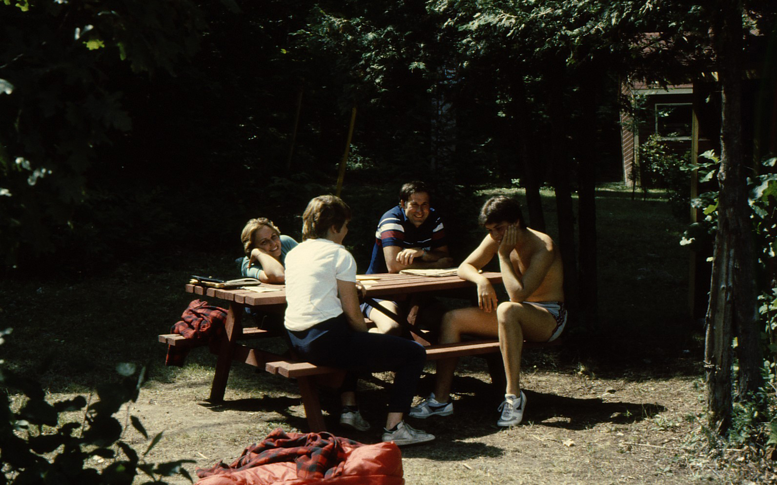 1980's - hanging at craft hut.jpg