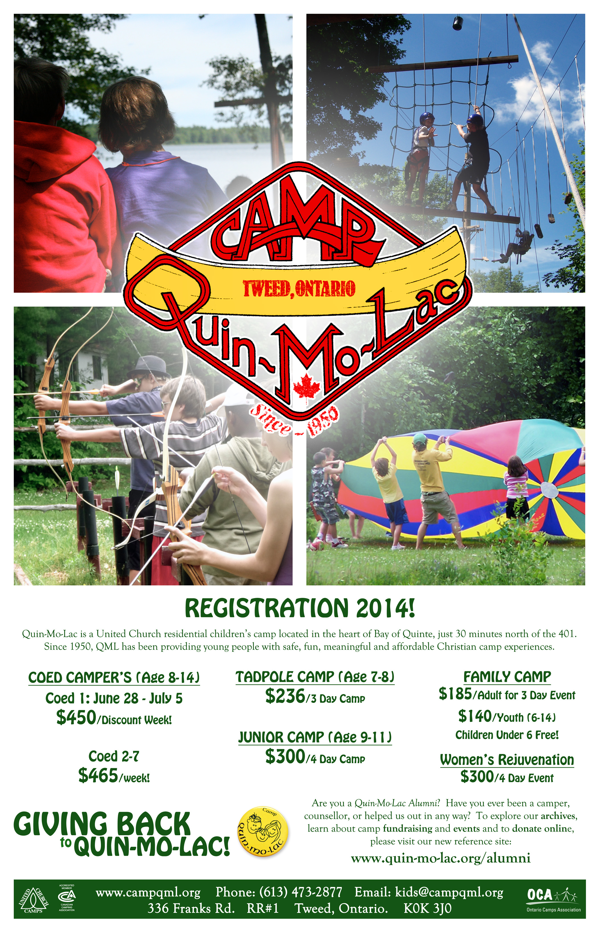 CLICK HERE TO VIEW OUR 2014 RATES POSTER