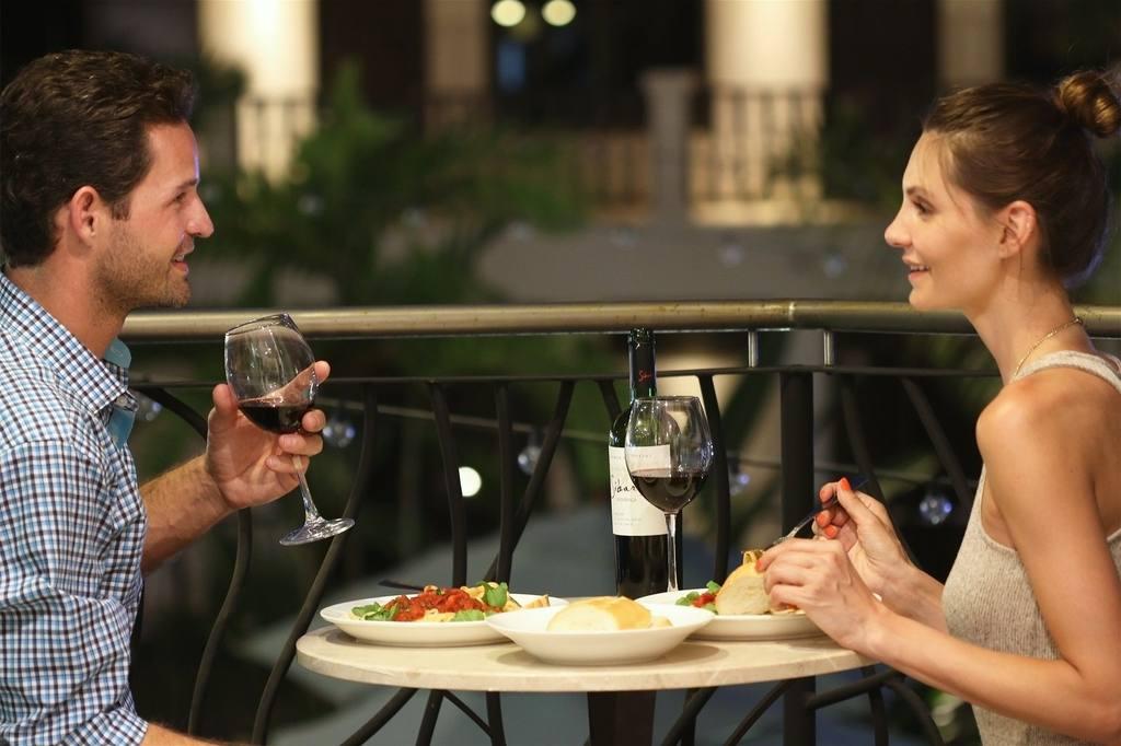 Oceano dinner on balcony.jpg