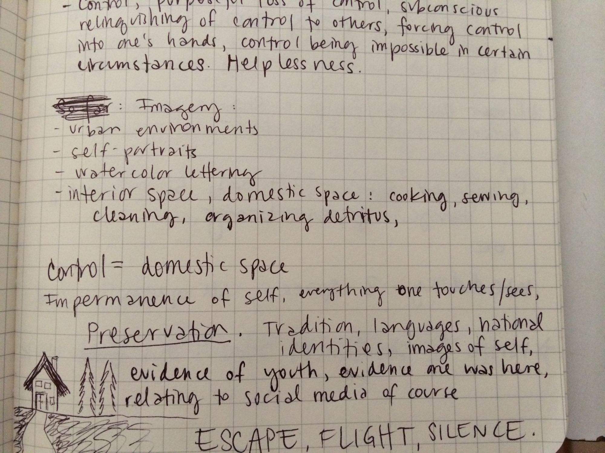 8/4/14 Writing stuff on the train
