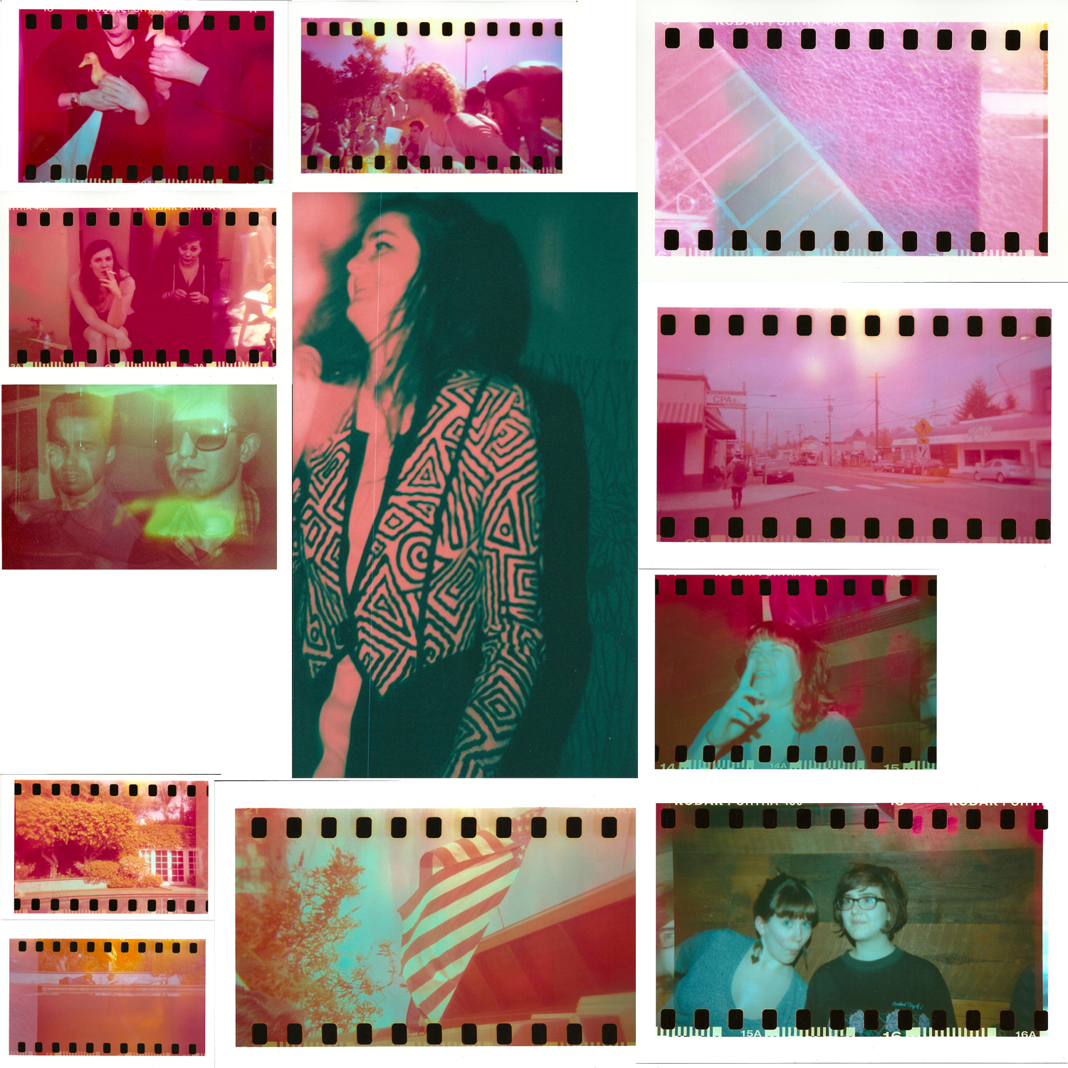 1.14.15 Orange-pink-red photo montages