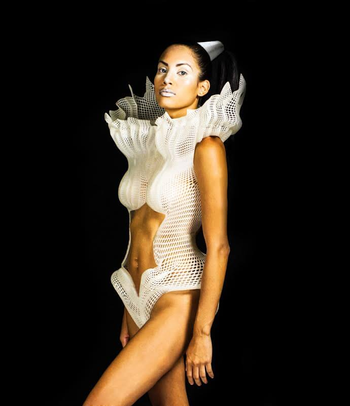 Swimsuit by Panamanian design student Nadir Gordon (google her for more images)