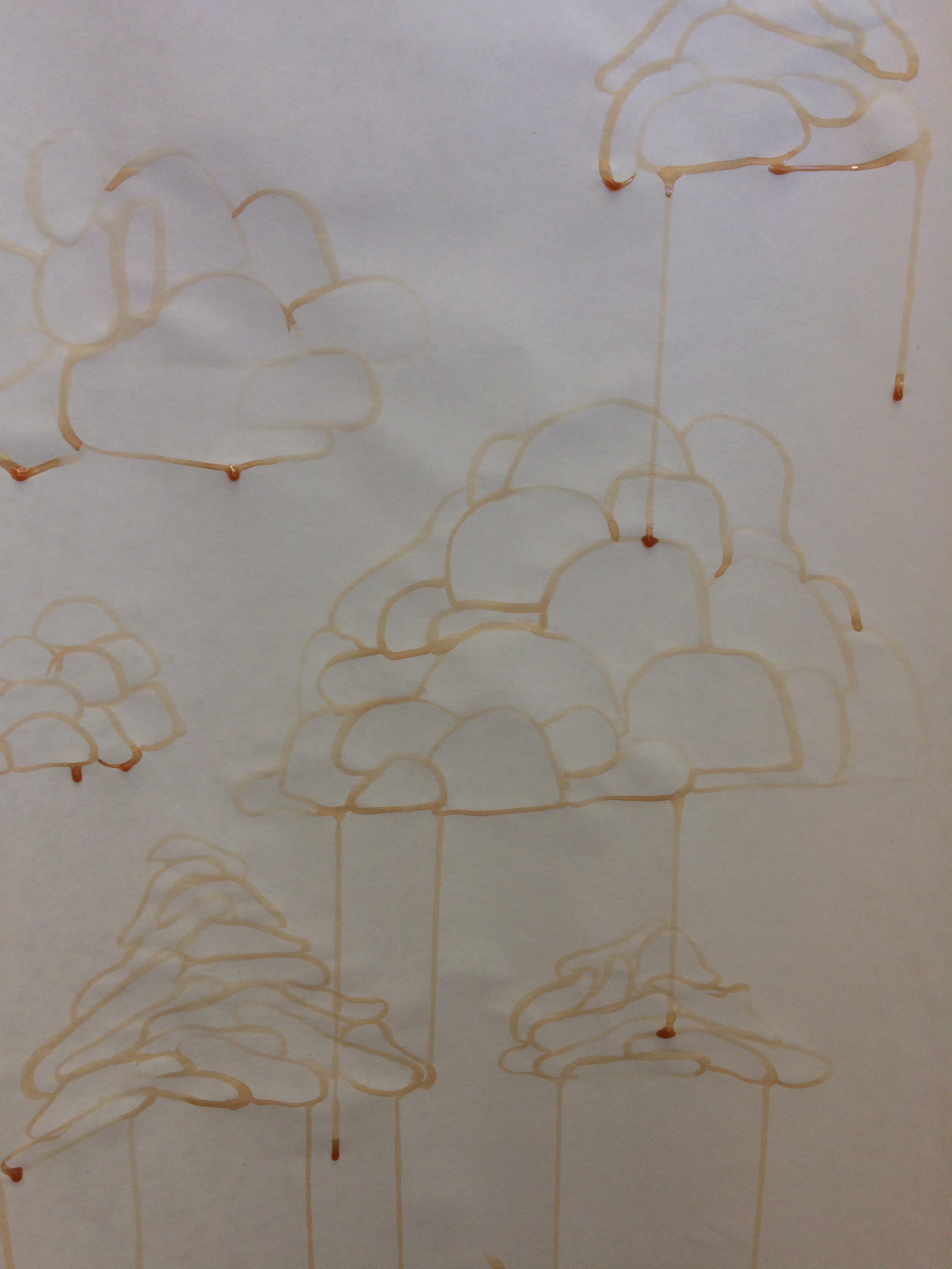 clouds, blobs, piles.