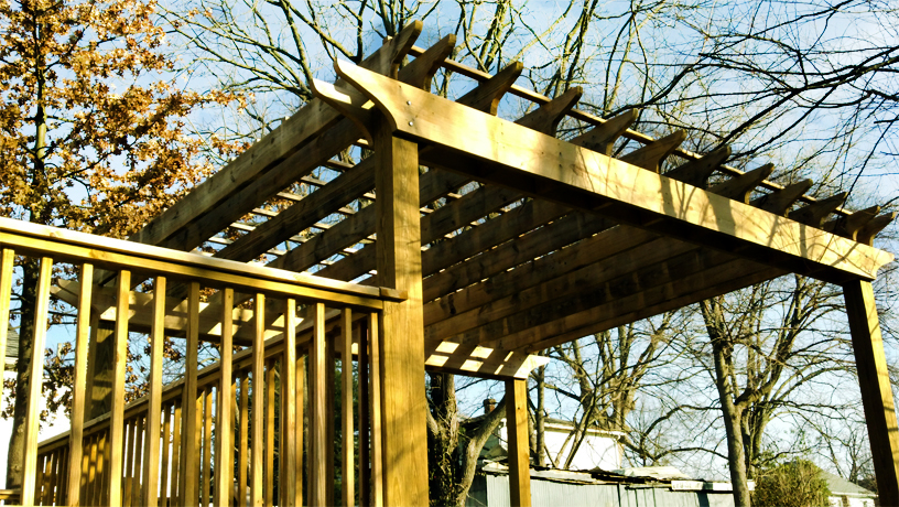 Superior Home Improvements  Backyard Deck Project: Wilmore, Ky.