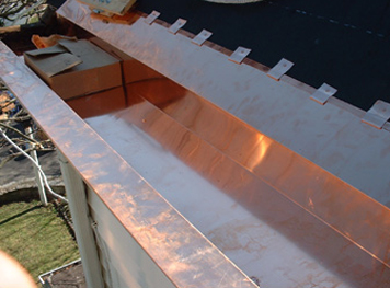 Superior Home Improvements  Box Gutter Installation