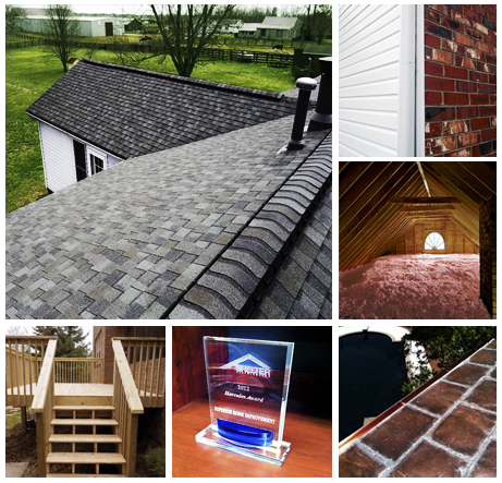 Superior Home Improvements Roofing and Exterior Collage