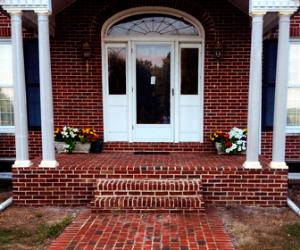 Sidewalk & Column Replacement: Georgetown, Ky. Superior Home Improvements