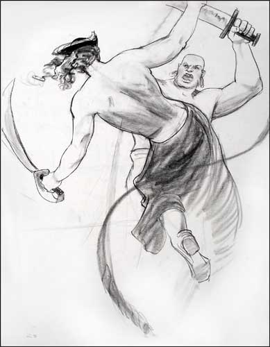 Clothed Figure Drawing, 2004