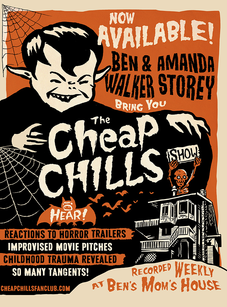 The Cheap Chills Show - A new podcast from Ben & Amanda Walker Storey