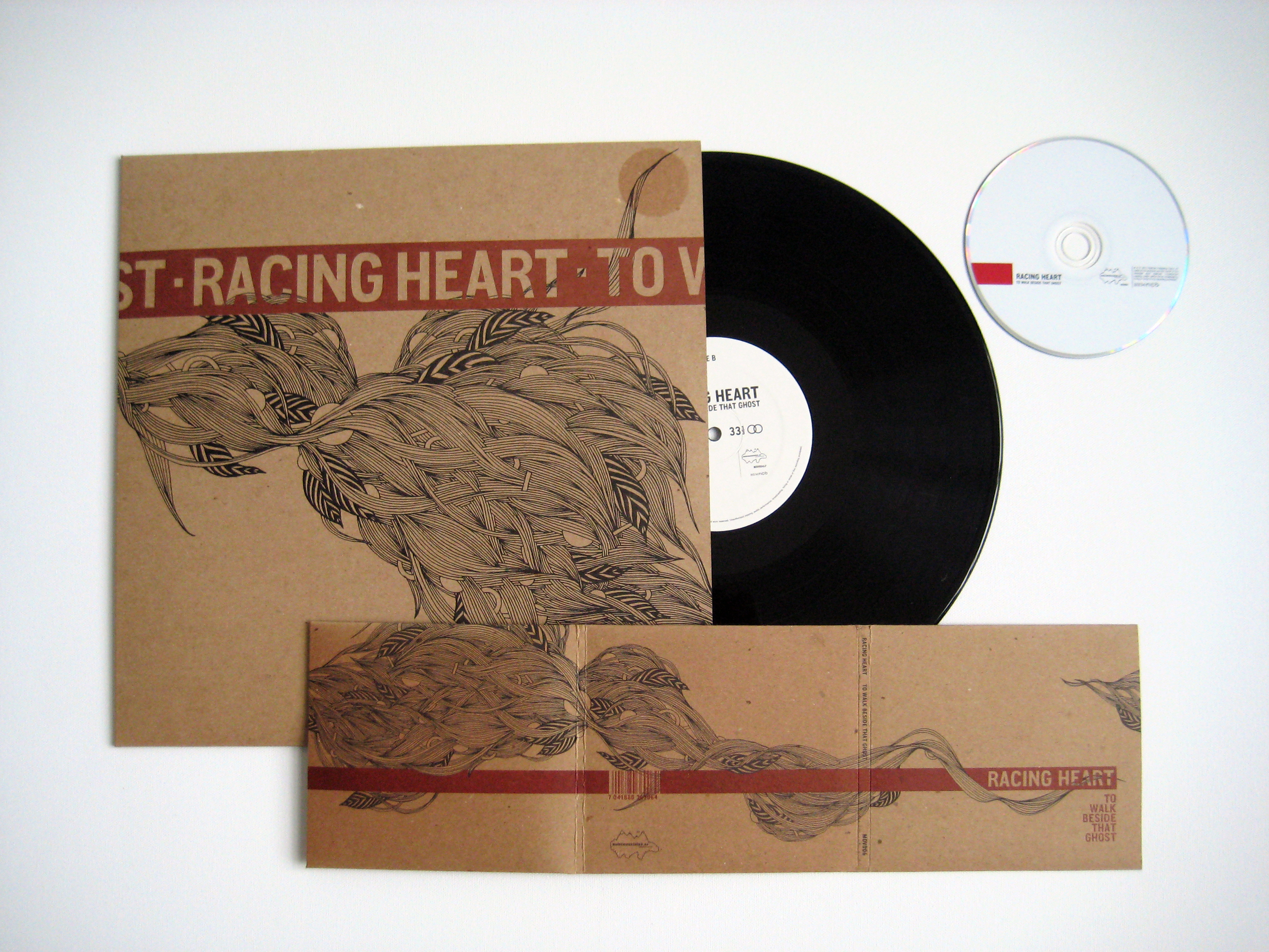 Racing Heart, To Walk Beside That Ghost,Album and CD, 2011