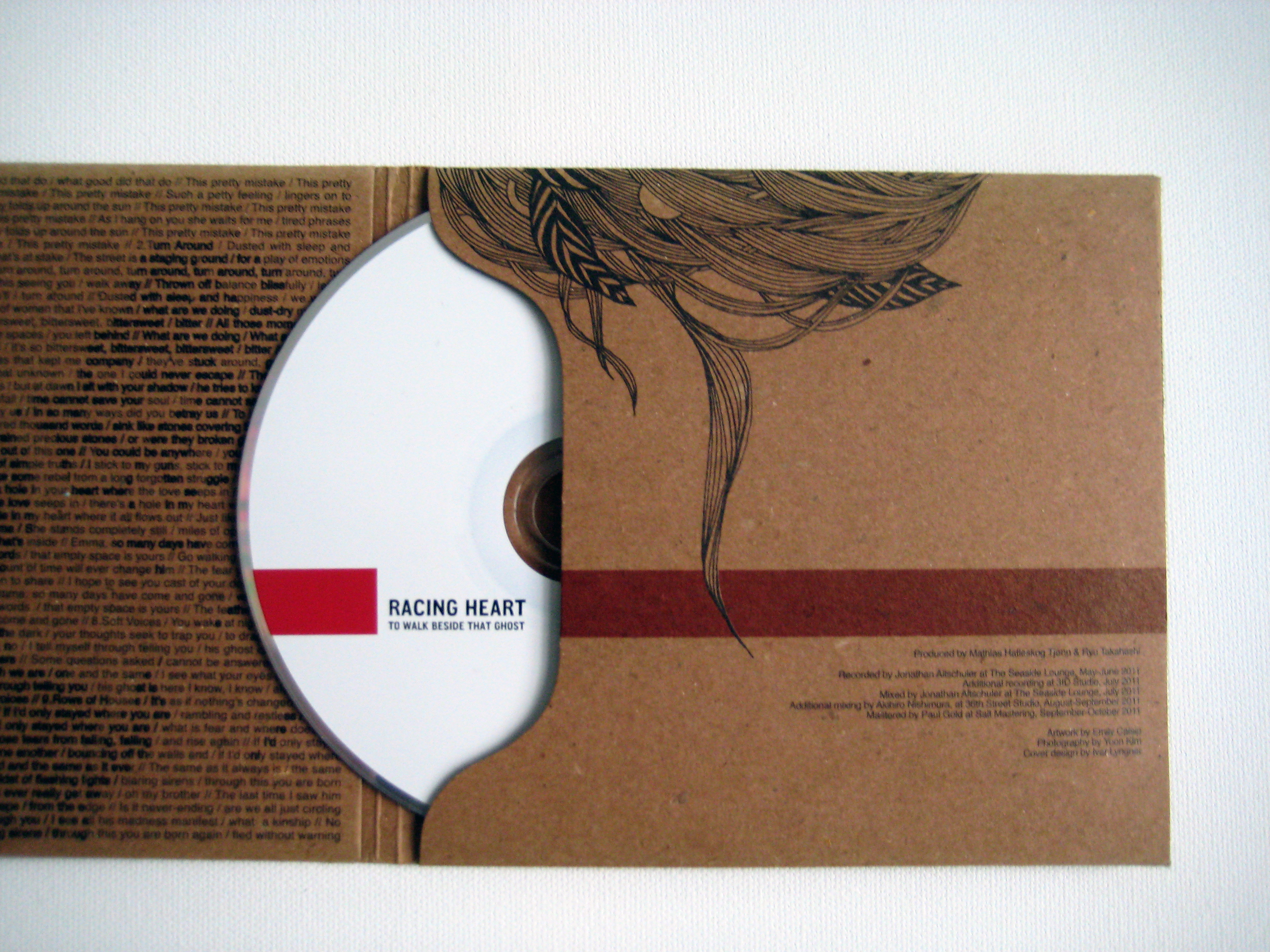 Racing Heart CD, 2011