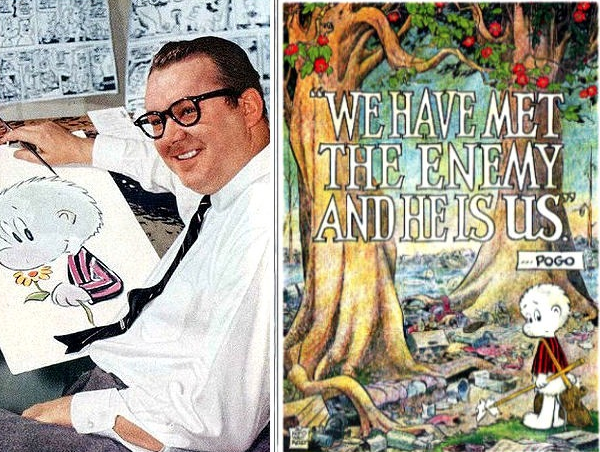 Cartoonist Walt Kelly's Poster commemorating the first Earth Day
