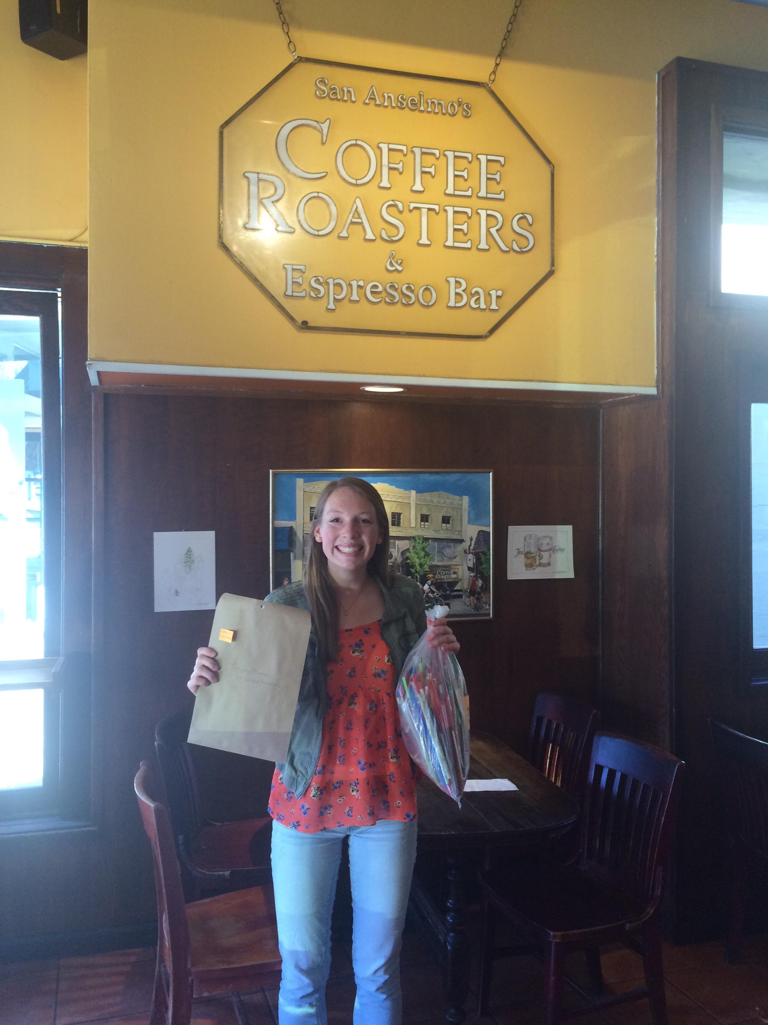 Marya at Coffee Roasters